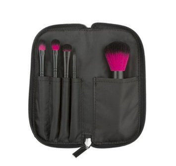 Coastal Scents Color Me Fuchsia Makeup Brush Set