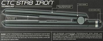 Rusk RSK686 Professional Str8 Titanium-Infused Ceramic Flat Iron