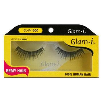 Glam-I 600 Full Strip Human Hair Eyelashes