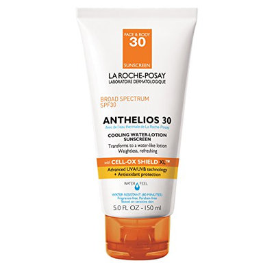 La Roche-Posay Anthelios 30 Cooling Water-Lotion Sunscreen for Face and Body