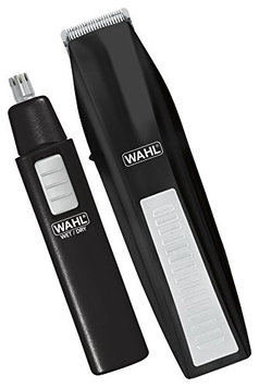 Wahl 5537-1801 Cordless Battery Operated Beard Trimmer with Bonus Ear