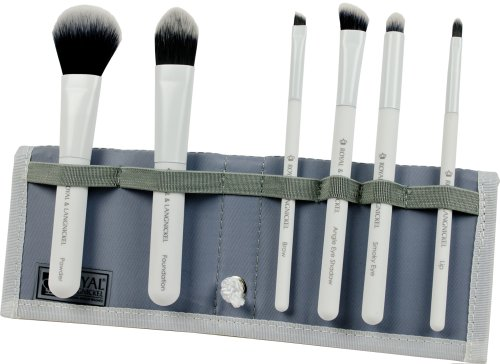Royal Brush Moda Total Face Cosmetic Brush Set and Case