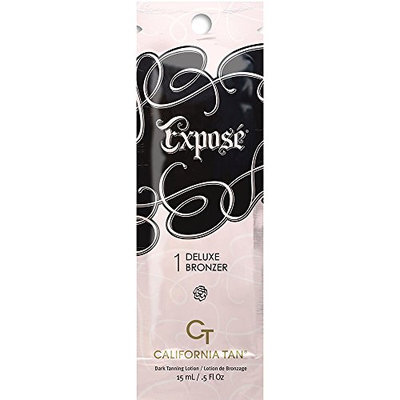New Sunshine California Tan Expose Deluxe Bronzer Step 1 Packette