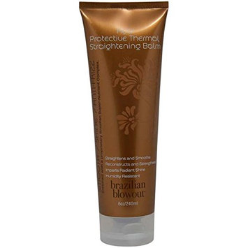 Brazilian Blowout Acai Protective Thermal Straightening Balm for Unisex