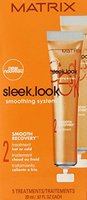Sleek Look Smoothing System 2 Smooth Recovery Treatment Hot or Cold 5 X .6 (each)