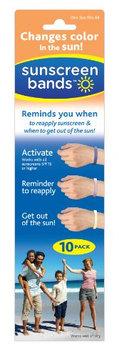 Sunscreen Bands New Adjustable Locking Design