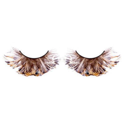 Baci Paradise Dreams Style No.609 Feather Eyelashes with Adhesive Included