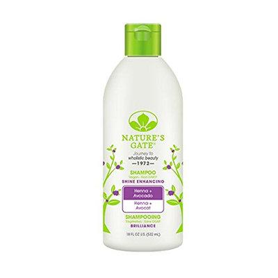 Nature's Gate Henna & Avacado Shine Enhancing Shampoo for Dull