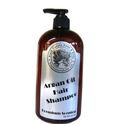 Black Canyon Argan Oil Hair Shampoo 16 Oz (Seven Springs (For Men))