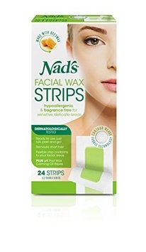 Nad's Hypoallergenic Facial Wax Strips