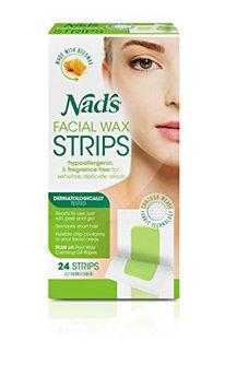 Nad's Hypoallergenic Facial Wax Strips