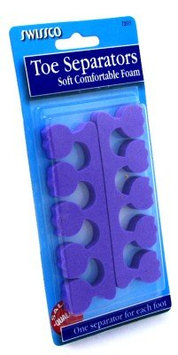 Swissco Assorted Color Foam Toe Separators