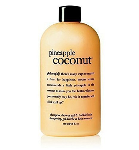 pineapple coconut shower gel | shampoo