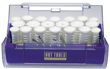 Hot Tools Professional 1321 Hot Rollers with Ribs and Cool Touch Ends