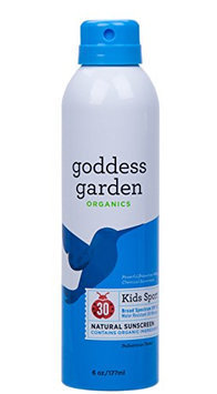 Goddess Garden SPF 30 Sunny Kids Sport Natural Sunscreen Continuous Spray