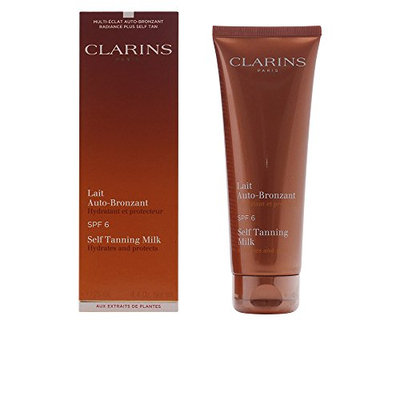Clarins Self Tanning Milk SPF 6 for Unisex