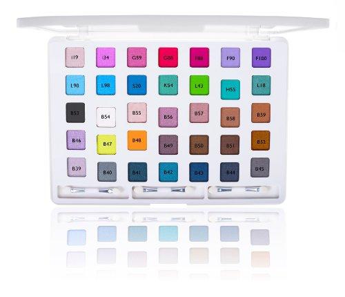 SHANY iLookBook Ultra Compact HD Makeup Set - 35 Colors Eye Shadow Palette