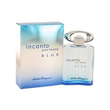 Salvatore Ferragamo Incanto Blue Cologne Eau De Toilette Spray 3.4 Ounce