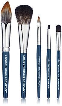 LONDON BRUSH COMPANY 5 Piece NouVeau Vegan Hair Travel Makeup Brush Set
