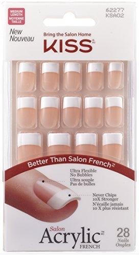 Kiss products salon acrylic french nail kit reviews find for Acrylic nails walmart salon