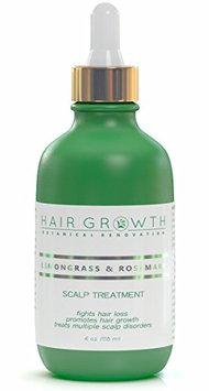 Hair Growth Botanical Renovation Anti-hair Loss Hair Oil Scalp Treatment 4 0z / 120 Ml Lemongrass and Rosemary
