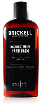 Brickell Men's Products Maximum Strength Hand Balm