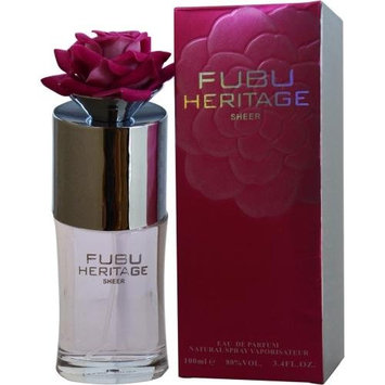 Fubu Heritage Sheer Eau de Parfum Spray for Women