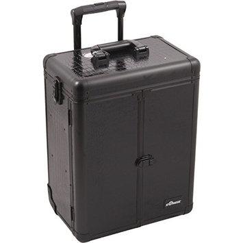 SUNRISE Professional Makeup Case on Wheels E6305 Aluminum