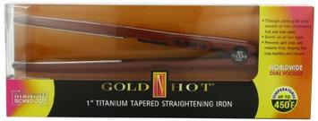 Gold 'N Hot Professional Titanium Tapered Straightening Iron