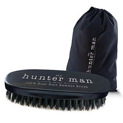 The Hunter Man Beard Brush with 100% Boar Hair for Men