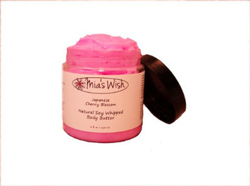 Mia's Wish Japanese Cherry Blosson Natural Soy Whipped Body Butter
