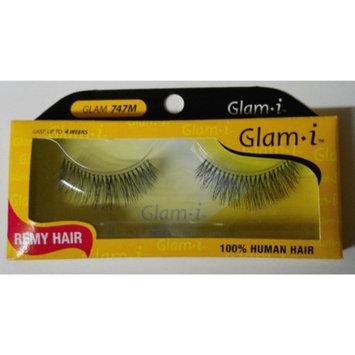 Glam-I 747M Full Strip Human Hair Eyelashes