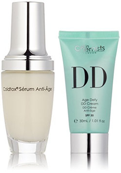 skinChemists Coldtox Facial Serum and Age Defying DD Medium Cream with SPF 30