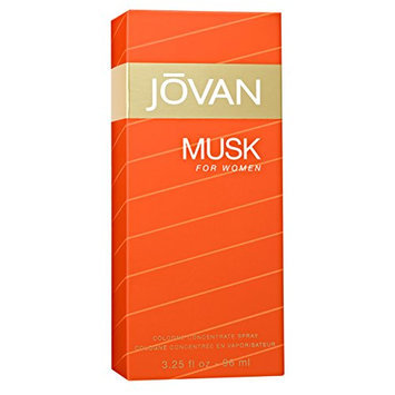 Jovan Musk Women Cologne Concentrate Spray by Jovan
