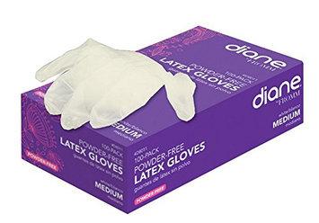 Diane Medium Latex Powder-Free Gloves  ( D8011)