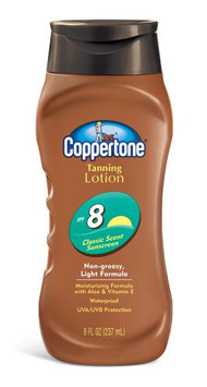 Coppertone Tanning Lotion