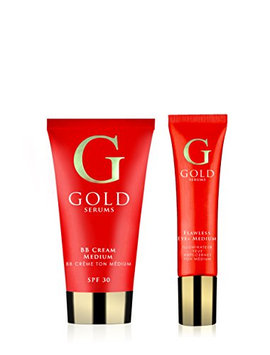 Gold Serums Medium Complexion Kit