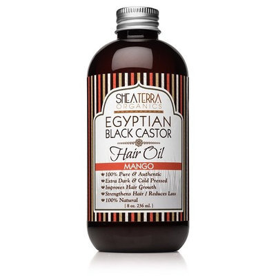 Egyptian Black Castor Cold Pressed Oil (Mango)