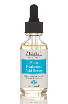 Zebel Skincare BEST Hyaluronic Acid Serum For Face- 100% Pure-Highest Quality