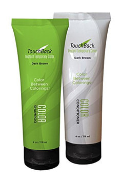 TouchBack Shampoo & Conditioner Set - Dark Brown