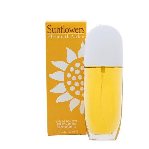 Sunflowers By Elizabeth Arden For Women. Eau De Toilette Spray 1.7 Oz.