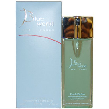 Blue World by Deon Parfums for Women - 3.4 Ounce EDP Spray