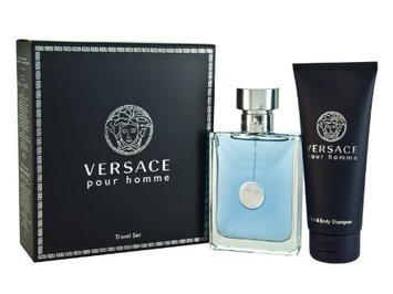 Versace Pour Homme Men Gift Set (Eau De Toilette Spray