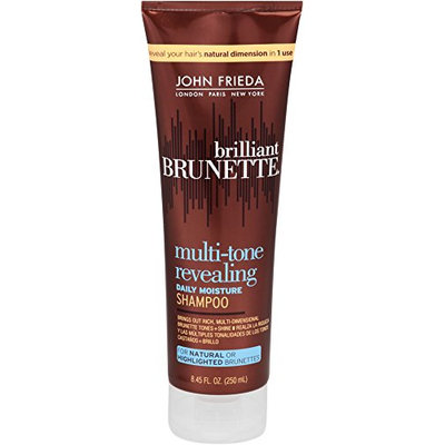 John Frieda Brilliant Brunette Multi-tone Revealing Moisture Shampoo for Natural or Highlighted Brunette