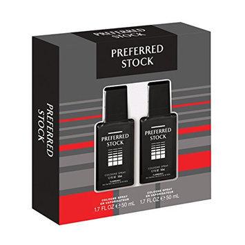 Stetson Preferred Stock 2 Piece Gift Set (1.7 Ounce Cologne Spray)