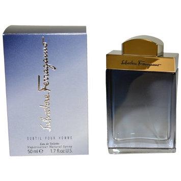 Subtil By Salvatore Ferragamo For Men. Eau De Toilette Spray 1.7 Ounces