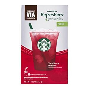 Starbucks Refreshers Very Berry Hibiscus Via Ready Brew Reviews 2019