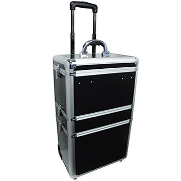 City Lights 3-Tier Lockable Case on Wheels