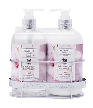 Upper Canada Soap Brompton and Langley Hand/Body Wash and Lotion Caddy Gift Set
