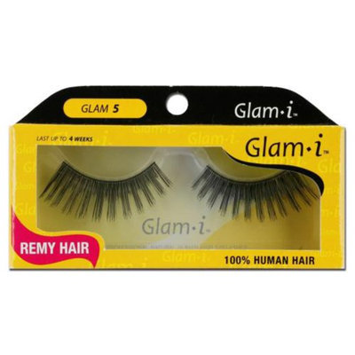 Glam-I 5 Full Strip Human Hair Eyelashes